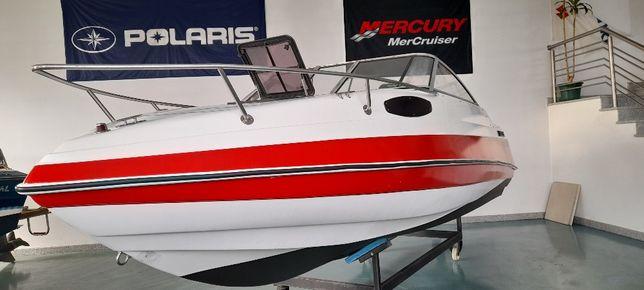 Barco CARAVELLE 570 com motor MERCRUISER 150HP 4Tempos
