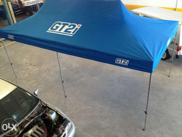 Toldo assistência padock rally velocidade boxes tenda