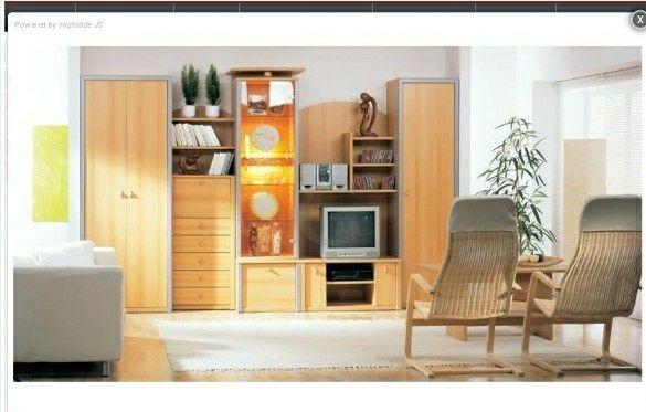 Нова меблева стінка РОМЕО (вітальня)