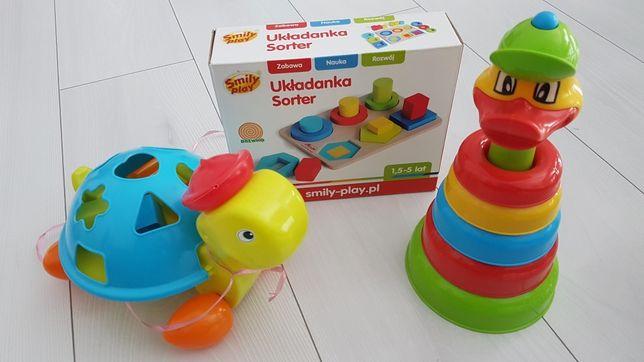 Zabawki interaktywne  dla malucha Zestaw
