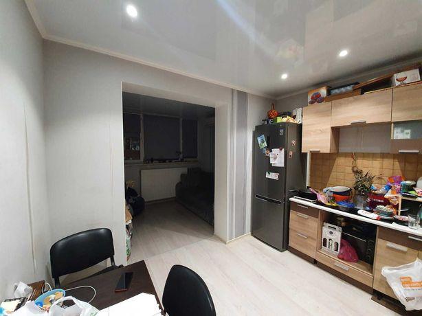 1-комнатная 850$ за м2 с ремонтом Радужный. Первая линия домов. Жукова