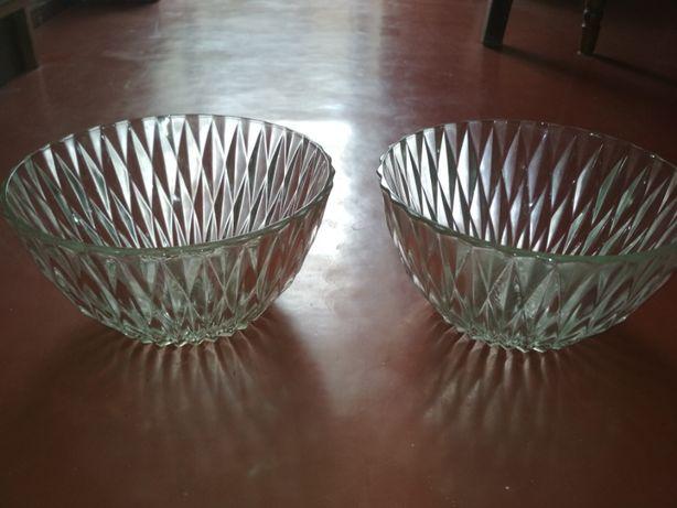 Cтеклянные салатницы