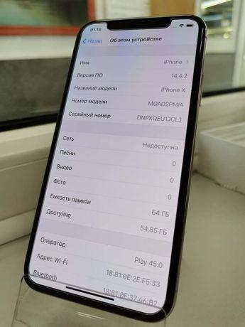 Телефон Iphone 10, 64 gb