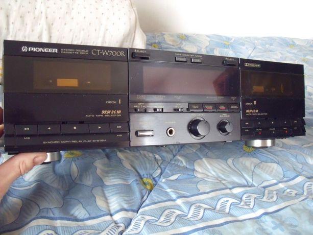 Sprzedam Magnetofon typu Deck Pioneer CT-W700R Stereo