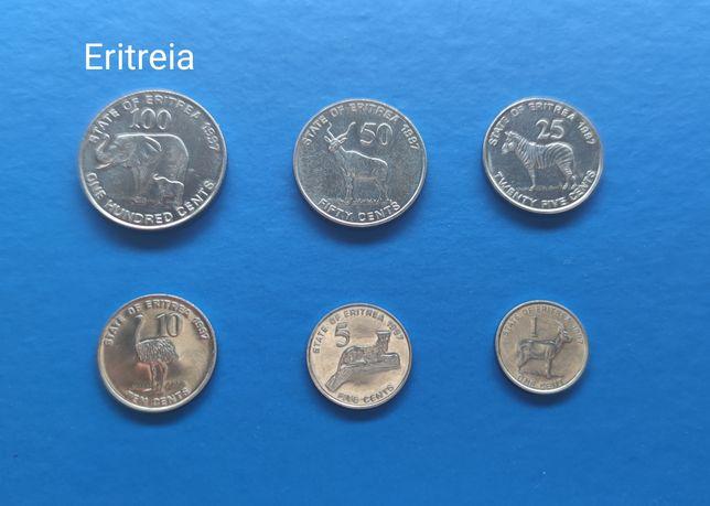 Set Moedas Eritreia