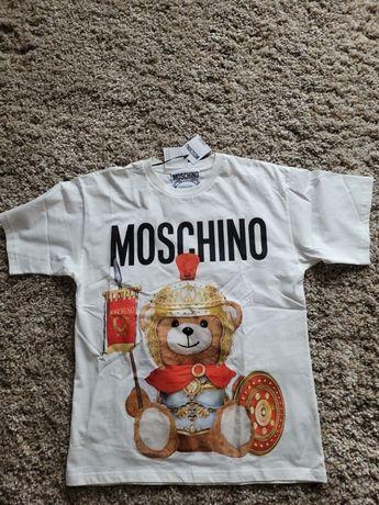 Брендовая футболка Moschino оригинал