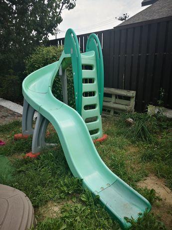 Дитячий ігровий комплекс, гірка Smoby і пісочниця Step2