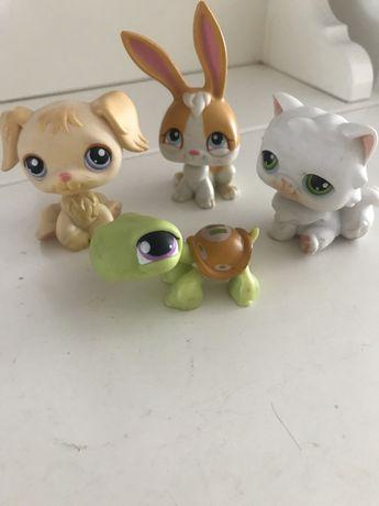 HASBRO Littlest Pet Shop 4 sztuki
