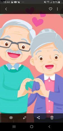 Cuidadora particular de idosos
