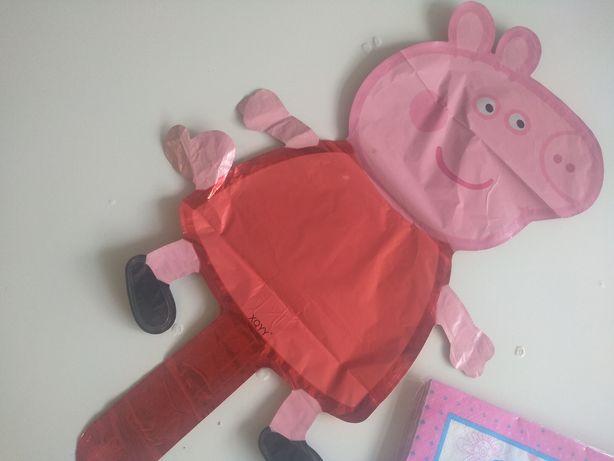 Oferta Portes | Peppa Pig e George Aniversário Balões, guardanapos