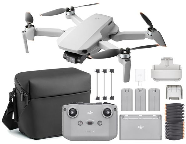 Dron DJI Mavic Mini 2 Fly More Combo Kamera 4K Gimbal 3-os. 31 min