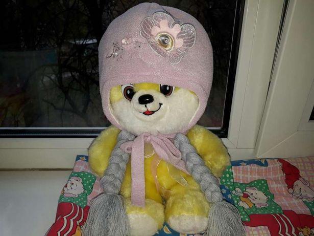Продам шапки осень-зима (Pupill Польша) для девочки 1-3 года