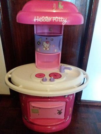 Cozinha Hello Kitty de brincar.