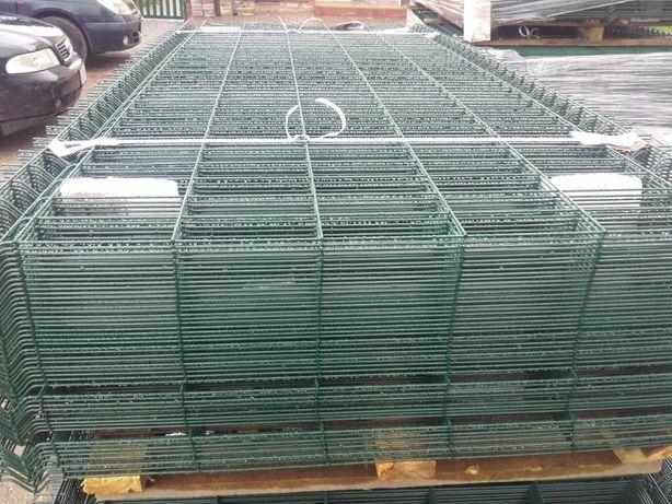 panele ogrodzeniowe siatki słupki akcesoria transport bezplatny