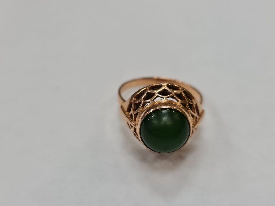 Wyjątkowy złoty pierścionek damski/ Radzieckie 583/ 4.35 gram/ R14.5