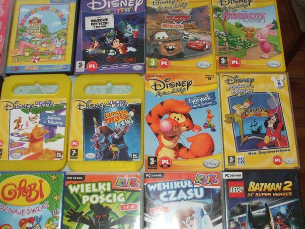 Sims, Batman, Fifa, NAscar, Call of, Rayman, gry na PC, Kojot, filmy