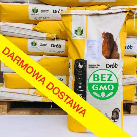Pełny koncentrat dla kur niosek 30% bez GMO! mieszanka karma kury 25kg