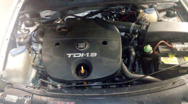 Motor Seat Ibiza Leon Toledo Cordoba 1.9tdi 90cv AGR ALH Caixa de Velocidades Arranque Alternador