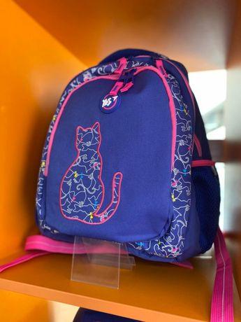 """Рюкзак школьный YES """"Cats"""" с котиками, для девочки 10-13 лет. Гарантия"""