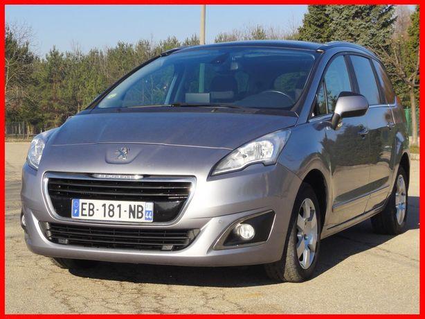 Peugeot 5008 Lift 1.6 hdi 120 KM 2016 r 7 osób 100% serwis REZERWACJA