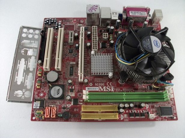 Комплект MSI ms-7255 + проц + озу