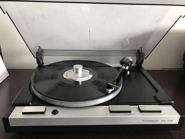 Gramofon Thorens TD 115 wkładka ortofon