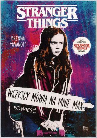 Stranger Things Runaway Max Brenna Yovanoff