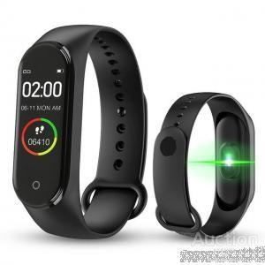 Фитнес браслет трекер Smart Band M4 умные часы smart