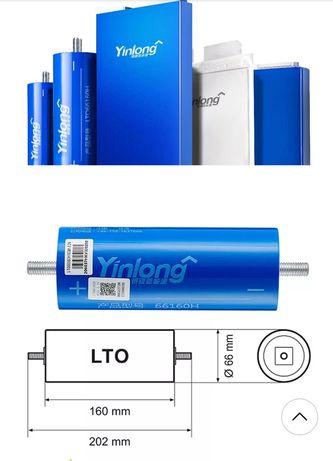 LTO 2.3 v 40ah 66160 litowo-tytanowe, tlenek tytanu