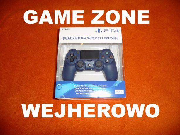 Pad Dualshock 4 V2 PS4 + Slim + Pro = Błekit Północy = Midnight Blue