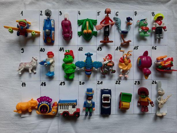 Figurki z Kinder Niespodzianek