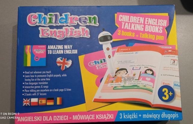 Książeczki do nauki języków z mówiącym długopisem
