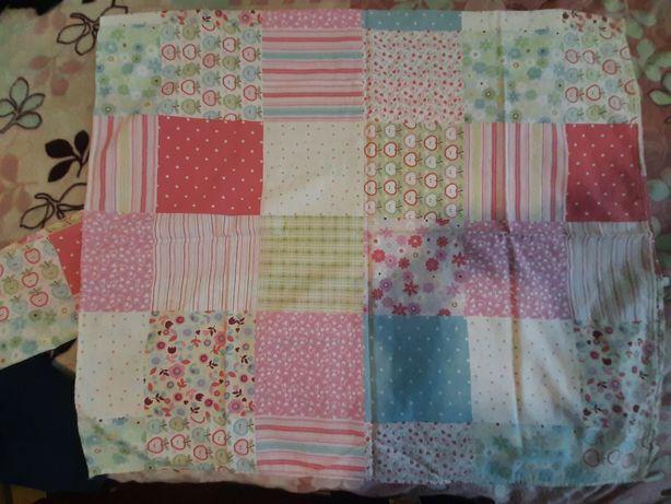 Постельный комплект для девочки в кроватку для детской кровати белье