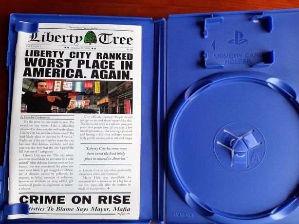 Caixa e manual GTA Liberty City Stories playstation 2