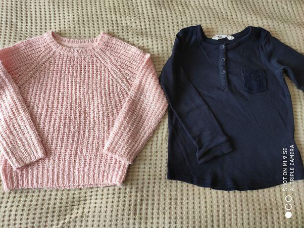 Swetr, bluzka H&M
