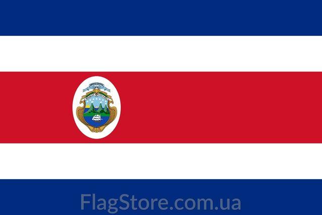 Флаг Коста Рики/Коста-Рика 150*90 см прапор Коста-Ріки/Коста-Ріка