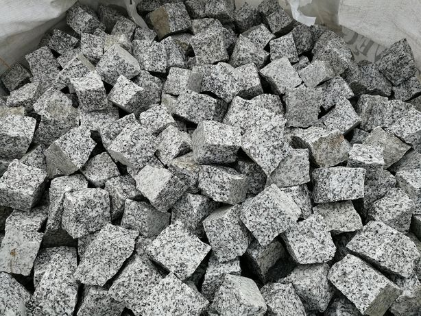 Kostka granitowa szara, Strzegomski granit - 4/6, strzegomska brukowa