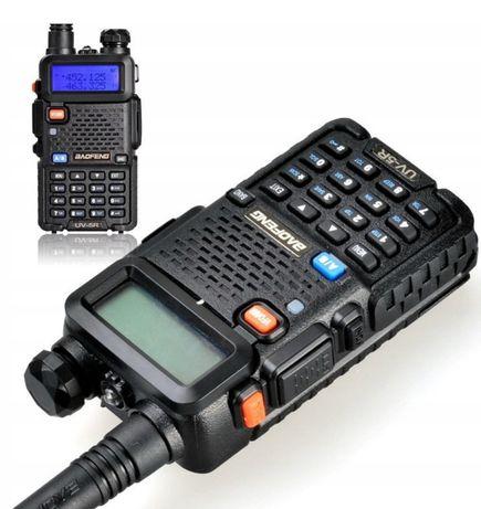 Nowa Krótkofalówka BAOFENG UV-5r UV5r nasłuch służb