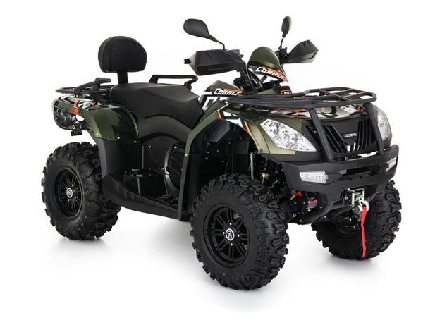 Nowy QUAD ATV GOES 550 COBALT MAX T3b CF Moto TGB Linhai Grizzly Raty