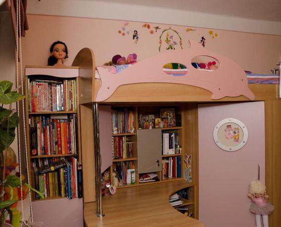 Детская корпусная мебель (Модуль + лестница) Наутилус