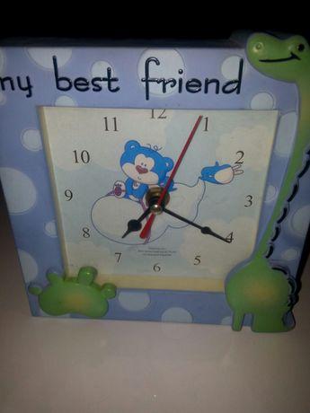 Zegar z misiem do pokoju dziecięcego
