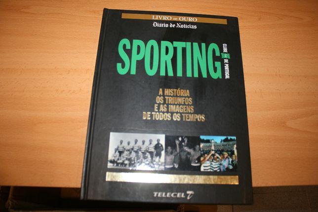 Livro - Livro de Ouro - Diário de Noticias - Sporting