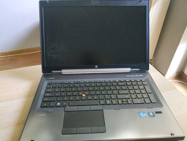 Laptop HP EliteBook 8760w. 16gb 120gb/1tb, I7, NVIDIA Quadro