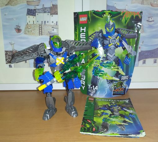 Zestaw Lego Hero Factory Surge 44008