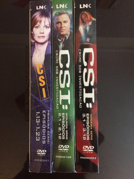 CSI Las Vegas - 1ª, 2ª e 3ª Temporadas