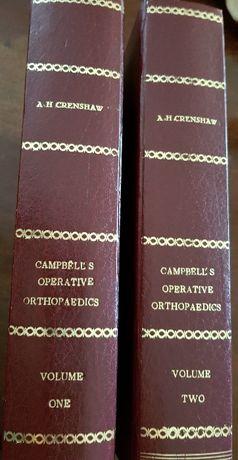 Livros de ortopedia Campbell`s operative orthopaedics,- 2 volumes.