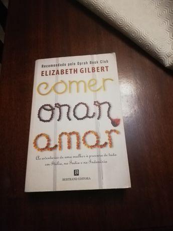 Vendo livro Comer Orar Amar