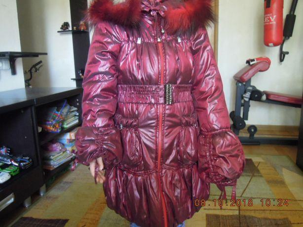 Пальто осень -зима на девочку 6