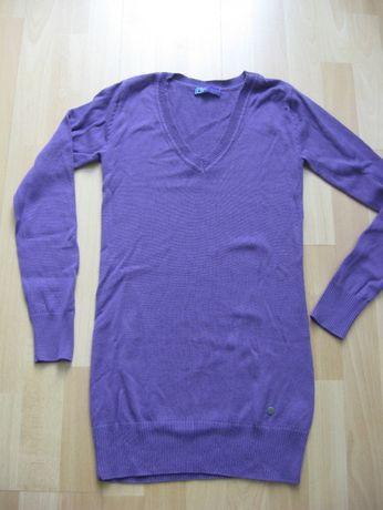 Śliwkowy sweterek AJC roz. S