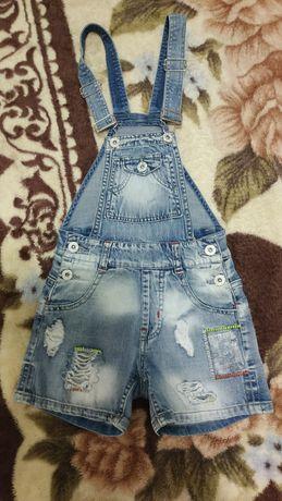 Комбинезон-шорты на девочку